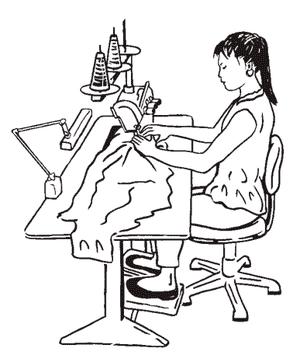 Обучение работе на швейной машине СПб